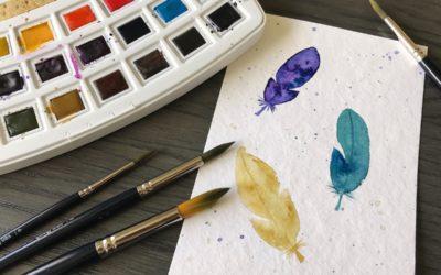 Malen mit Aquarellfarbe: auch du kannst das!