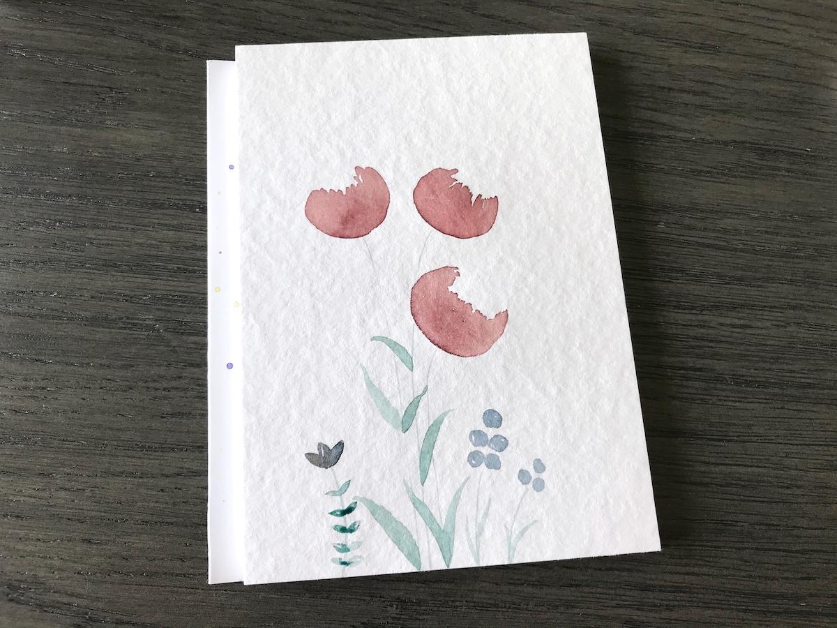 Schritt 4: Kleinere Blumen