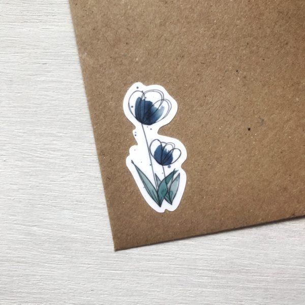 Blumensticker Detailansicht