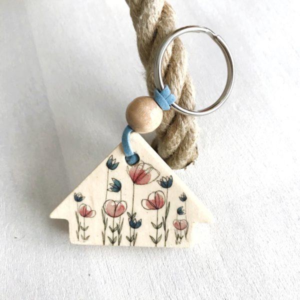 Schlüsselanhänger Blumewiese