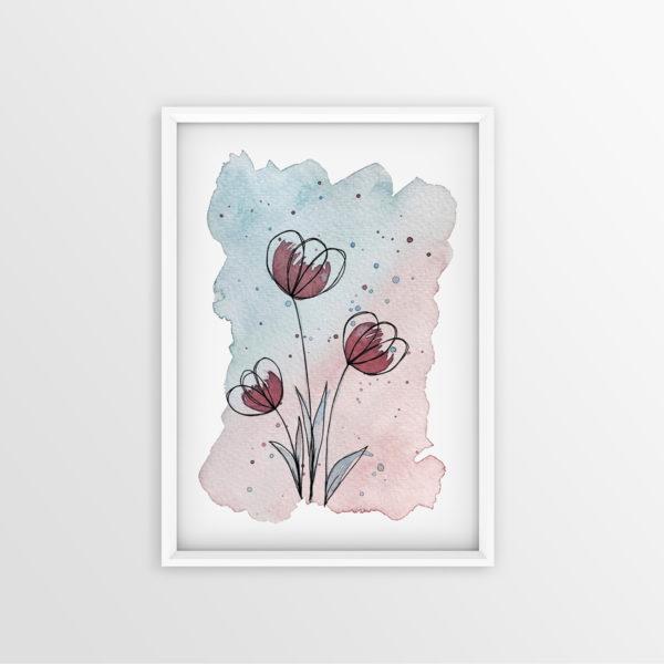 Art Print Springtime