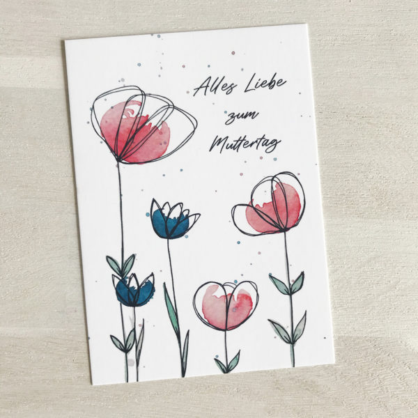 Postkarte Muttertag